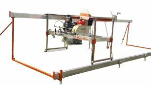 Swing blade sawmill