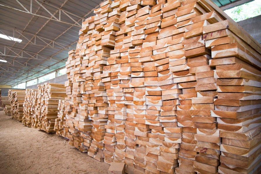 Sawn timber in Ivory Coast