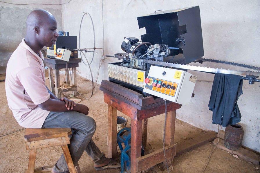 Blades sharpening Ivory Coast